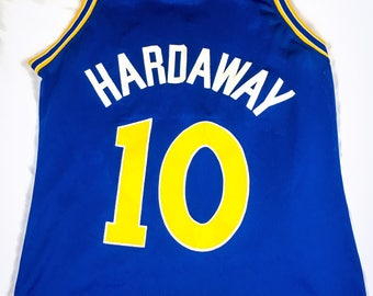 Vintage NBA Champion Jersey Golden State Warriors Tim Hardaway