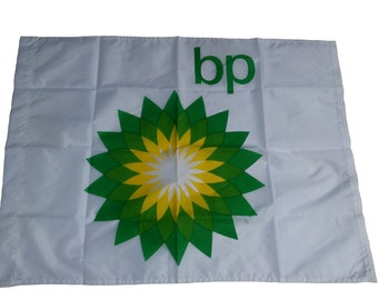 Vintage BP Oil Flag  from the 1980's