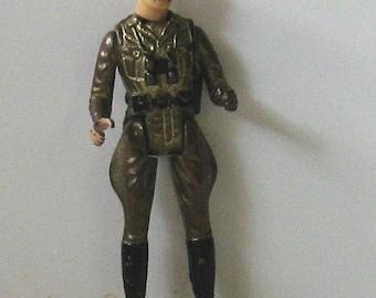 Vintage 1981 MEGO CORP Die Cast Metal Action Figure SOLDIER w/Mustache