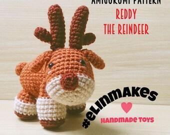 Reddy the Reindeer   Amigurumi Pattern
