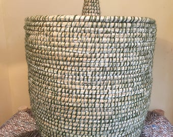 Large Moroccan basket
