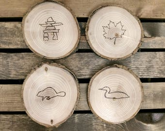 Canadian Coaster Set of 4