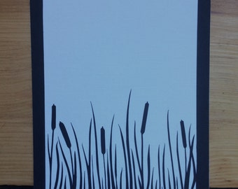 Rushes - Original Papercut Art