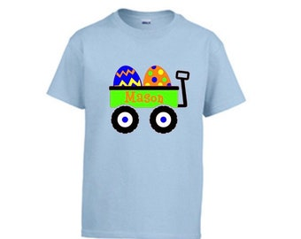 Personalized kids Easter Shirt