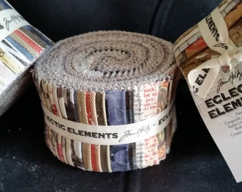 """Eclectic Elements Foundations - (24) 2.5"""" Design Roll - Tim Holtz for Coats"""