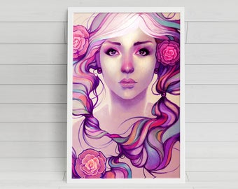Caira - signed 11x17 poster print