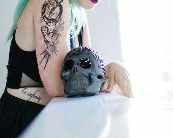 Sleeping Beauty Villainess Temporary Tattoo