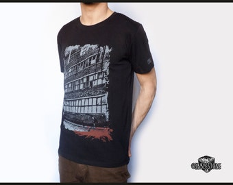 "T-shirt ""abandoned"" fair trade & organic"