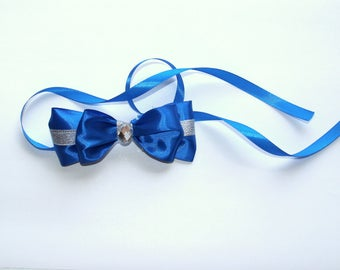 Wrist Corsage, Bridesmaid corsage, pearl corsage, blush corsage, blush bow corsage, wedding blush