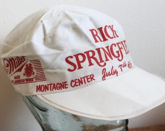 Vintage 1985 Rick Springfield Hat