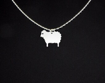 Sheep Necklace - Sheep Jewelry - Sheep Gift