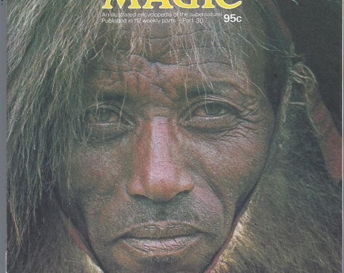 Man, Myth and Magic Part 30 Magazine by Richard Cavendish 1970