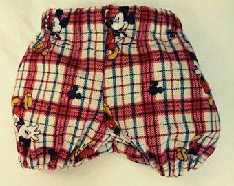 Boy's Mickey mouse Diaper cover. Size newborn