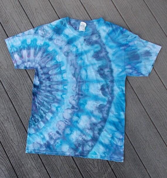 Ice-Dyed Tie Dyed Tshirt, Medium