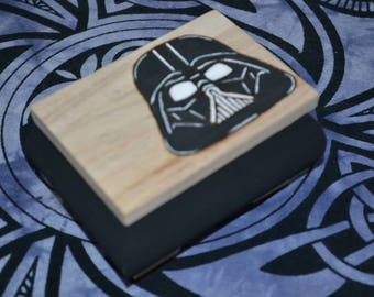"""customizable! domed box decorated with """"Darth Vader"""""""