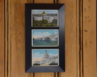 Washington D.C. Postcard Trio