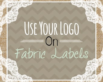 Custom Fabric Labels Cotton Sew On Precut - Use Your Logo