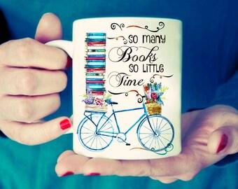 So many books so little time.  Mug
