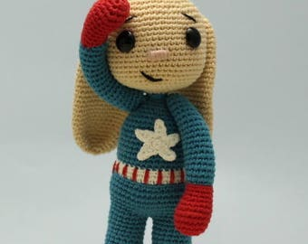 PATTERN - Captain America Bunny