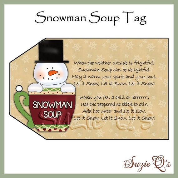 Amazing image with regard to snowman soup printable