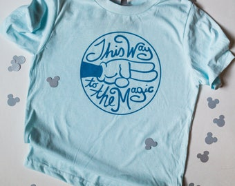 Youth Tee - This Way to the Magic - Give Kids the World Fundraiser
