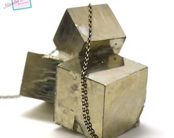 "chain ""2"" rectangle 1 m x 1, 5 mm, black/gold 03"