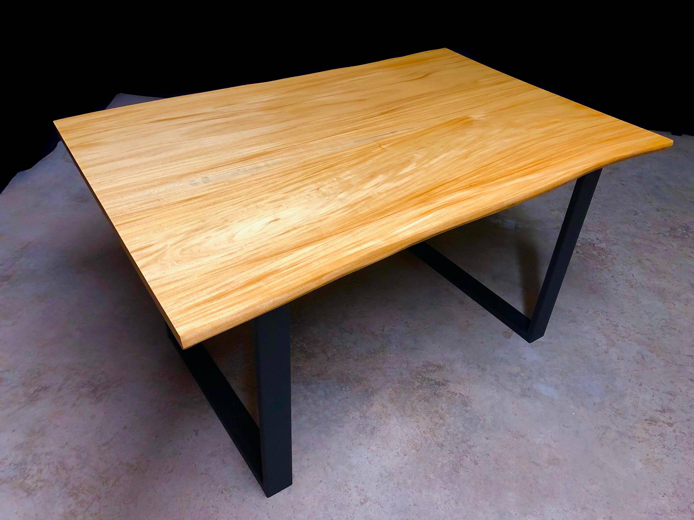 toronto canada home limberlost dining the img wood design table muskoka ontario living live edge