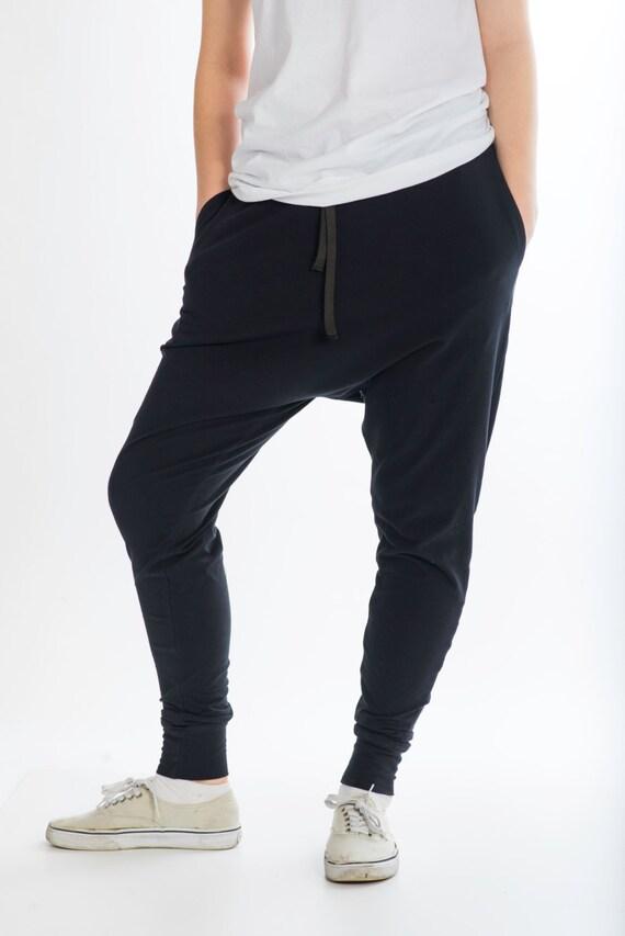 C&B Harem with Pockets UNISEX; AKA: Harem Trousers, Drop Crotch Pants, Drop Crotch Trousers,yoga pants,Baggy Pants,lounging pants, men,women