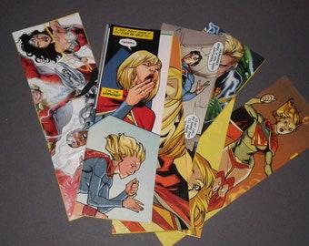 Geeky bookmark sets (DC Comics)