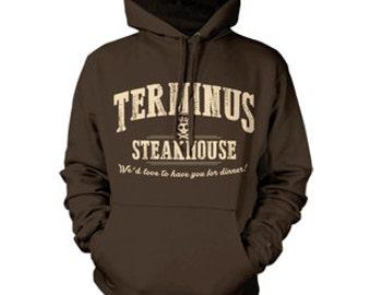 Terminus Steakhouse The Walking Dead Hoodie