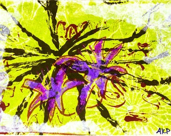 """High Quality Print of """"Floral Visions"""""""