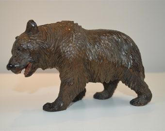 Original antique hand carved Black Forest bear circa.1900