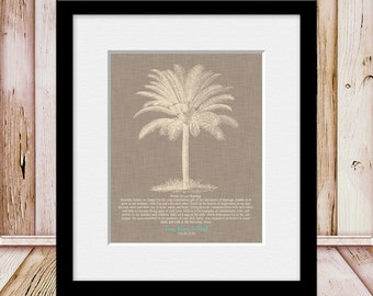 Gift for Beach Wedding, BEACH WEDDING, Prayer for Our Marriage, Wedding Gift from Mom and Dad, Palm Tree Wedding Gift, Wedding Prayer