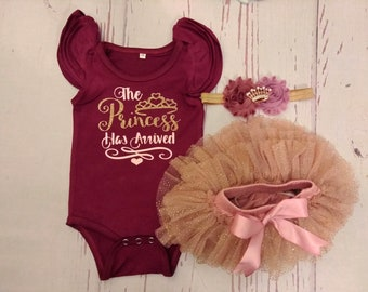 Take Home Outfit, Girl, Baby Girl, Take Home Outfit, Baby Girl, Infant, Coming Home Outfit, Baby Girl Take Home Outfit Personalized princess