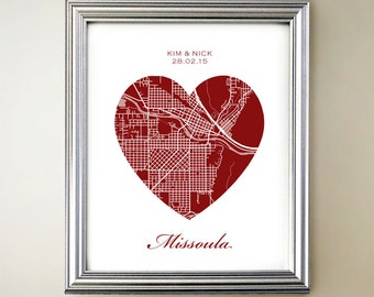 Missoula Heart Map