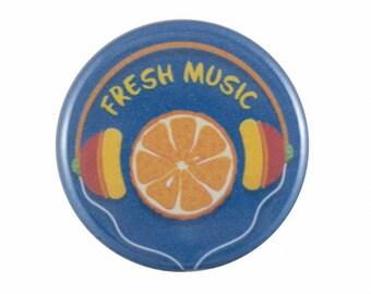 "Fresh Music 1.25"" Button Pin"