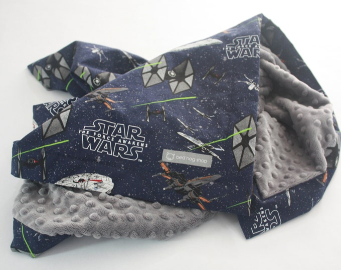 Star Wars Baby Blanket-The Force Awakens Ships