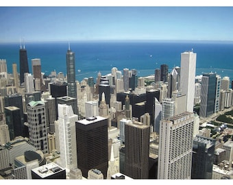 "Chicago postcards- ""What a View!"""