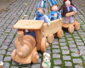 Wooden Train toy, Train toy, Train, Waldorf Toys Train, ToyTrain, Toy wooden train, gift for kids.