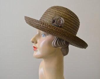 1960s Betmar Straw Hat