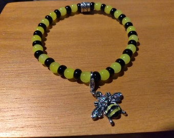 Bumble Bee with Charm