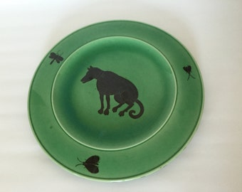 Unique-very rare wall plate-Hedwig Bollhagen Heidi Manthey-Signed