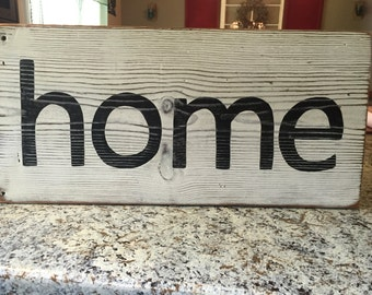 Home sign, fixer upper sign, farmhouse sign, rustic home sign, hand painted sign, wood sign, fixer upper home sign