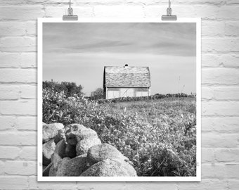 Block Island Art, Rhode Island Art, Barn Art, Country Farm, New England Farm Art, Vintage Barn Picture, Old Barn Photos, Block Island Gift