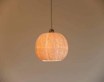 Porcelain Lamp, Home Decor Light, Light Pendant, Hanging Light, Lamp Shade,