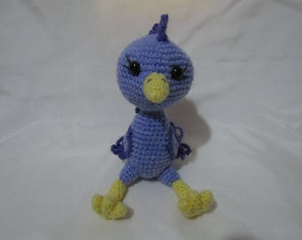 Amigurumi Feathered Bird Plush