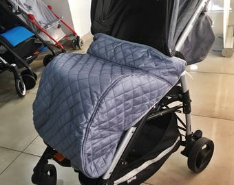 Footmuft for baby stroller