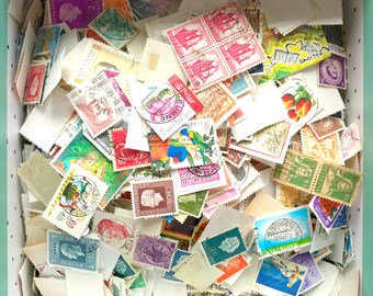 Old stamps / vintage - weheartconfetti