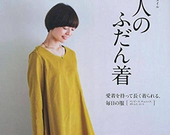 MayMe style adults usually wear Japanese Sewing patterns Book One piece Tunic pants S M L LL size