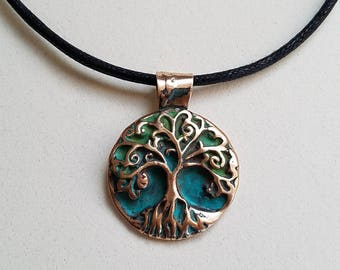 Tree of life necklace, tree jewelry, gift ideas, nature gifts, metal art jewelry.hand made jewelry. Pendants. Art jrwelry, birthday gifts